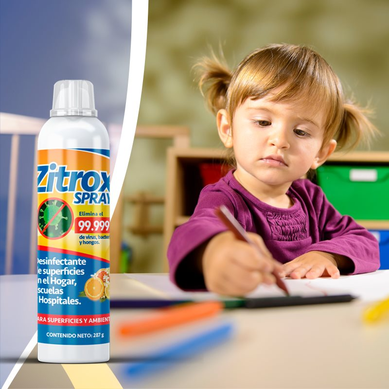 Zitrox Desinfectante de superficies para hogar